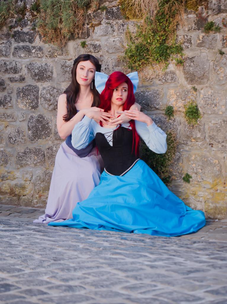 related image - Shooting La Petite Sirène - Ariel & Vanessa - Mito Lowe & Dshubba - Durbuy - Belgique -2020-07-31- P2211218