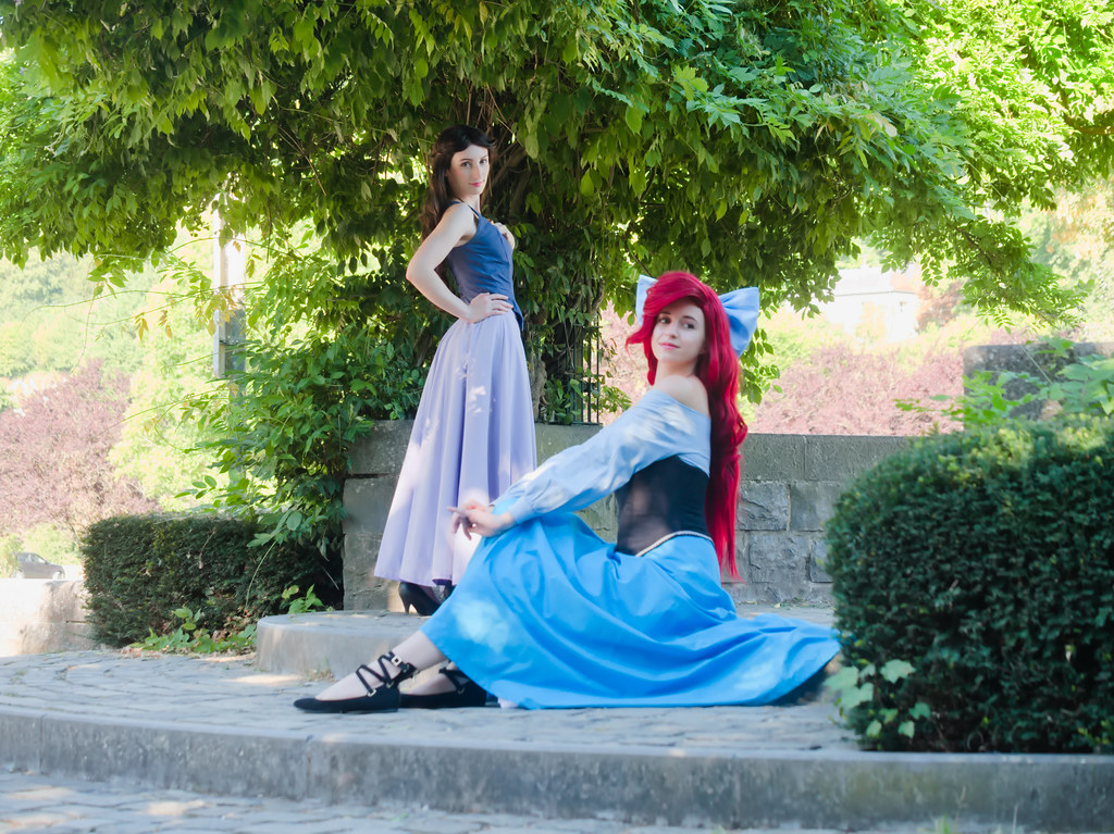 related image - Shooting La Petite Sirène - Ariel & Vanessa - Mito Lowe & Dshubba - Durbuy - Belgique -2020-07-31- P2211232
