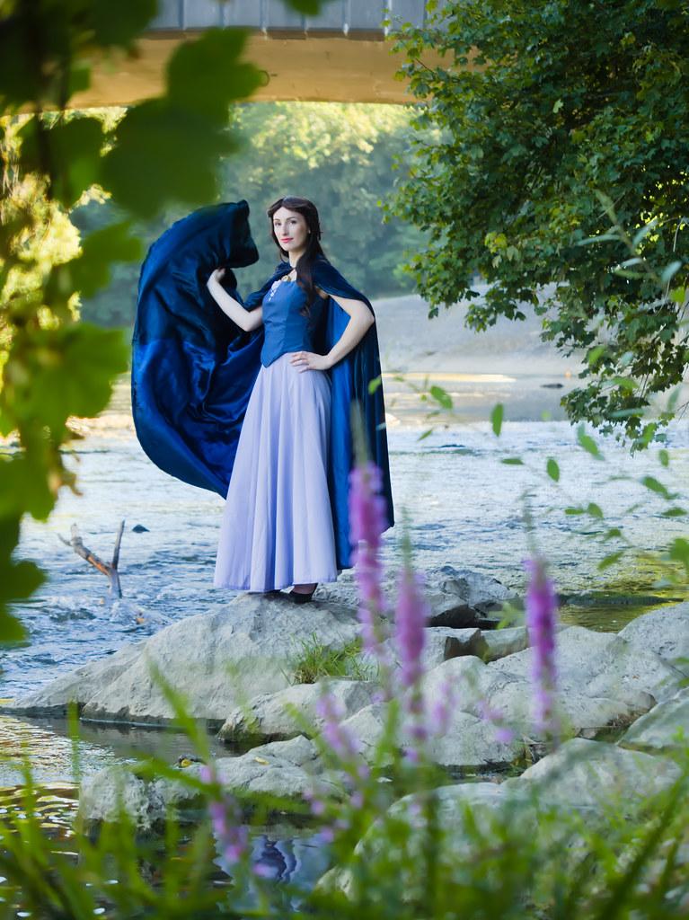 related image - Shooting La Petite Sirène - Ariel & Vanessa - Mito Lowe & Dshubba - Durbuy - Belgique -2020-07-31- P2211287