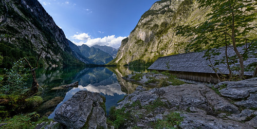 Alpine Panorama - Lake Obersee, Bavaria