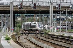 TGV Duplex leaving Lille - Photo of Lys-lez-Lannoy