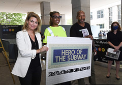 Heroic Transit Employees Commended for Saving Life of Customer at Brooklyn Subway Station