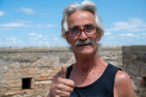 Mario, whose South-Italian village got force-evacuated in 1973 after two major landslides.