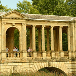 Palladian Bridge at Stowe Gardens by Elaine Robinson