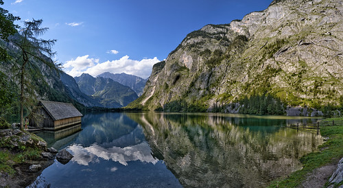 Alpine Panorama - Lake Obersee, Bavaria