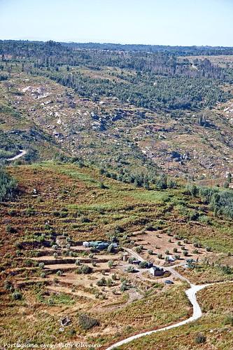 Vista do Miradouro da Penha - Póvoa de São Cosme - Portugal 🇵🇹