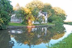 Farmhouse, Wolseley canal, England