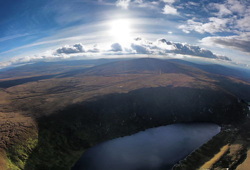 Bray Lakes in Wicklow Mountains