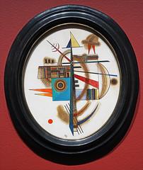 Ovale n°2 de V. Kandinsky Centre Pompidou Metz)