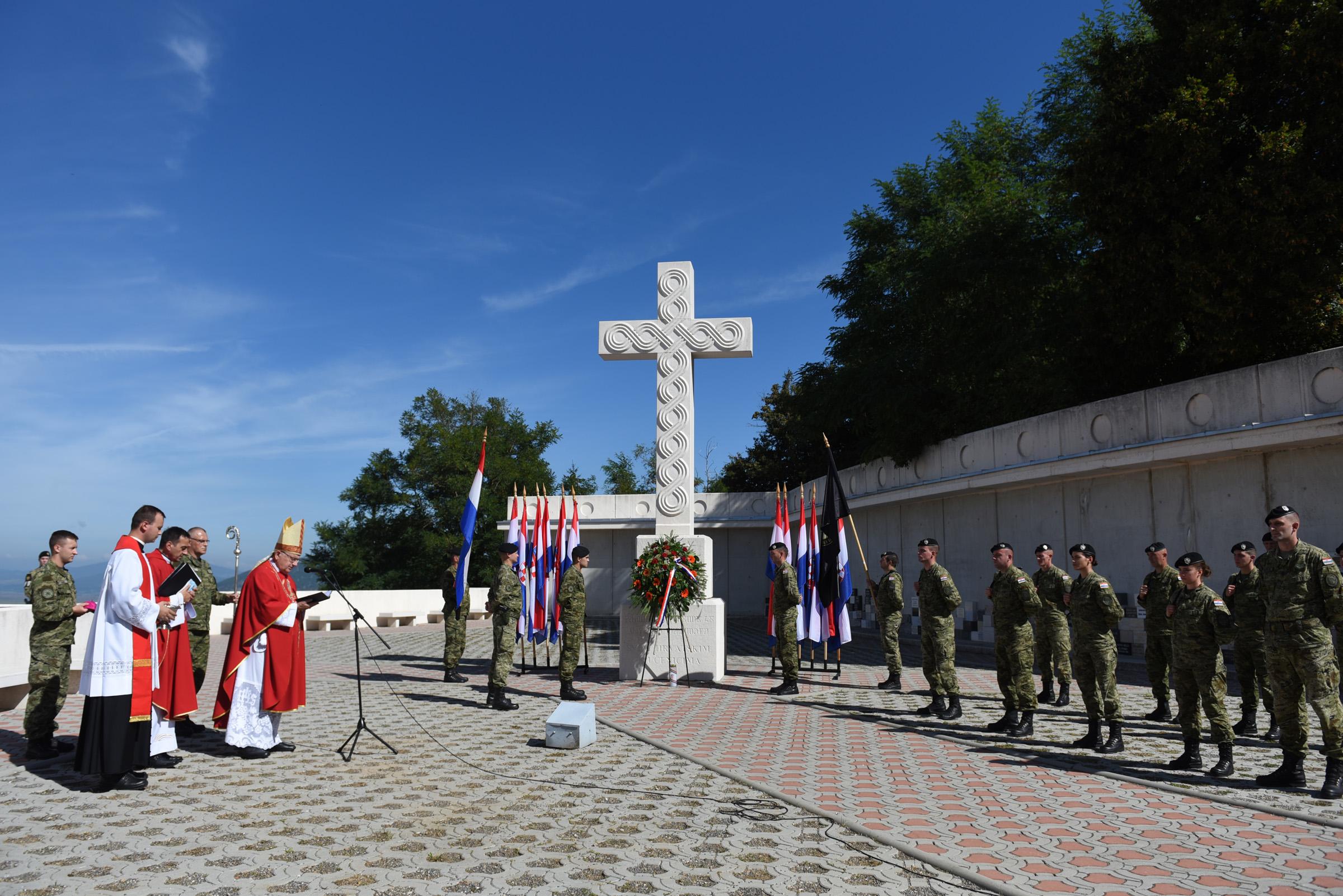 Održano 5. vojno hodočašće Hrvatske kopnene vojske