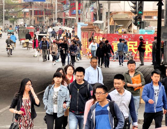 Chine - Pékin à l'aube et dans la circulation (6)