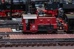 Köf im Bahnbetriebswerk
