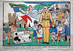 La Patrie, propagande du régime de Vichy (Centre Pompidou Metz)