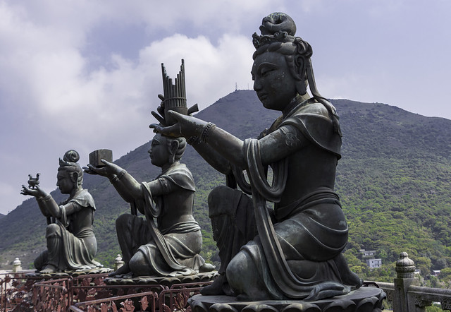 Photo:Tian Tan Buddha, Big Buddha,  天壇大佛, Lantau Island By Harald Felgner