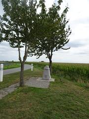 Strazeele  borne du chemin de mémoire en 2020 - Photo of Calonne-sur-la-Lys