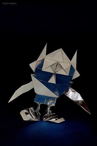 Origami Modular Robot with Antennas (Hojyo Takashi)