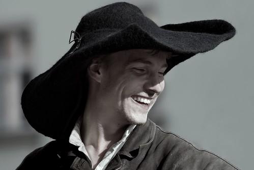 A Lucky Man's Laugh