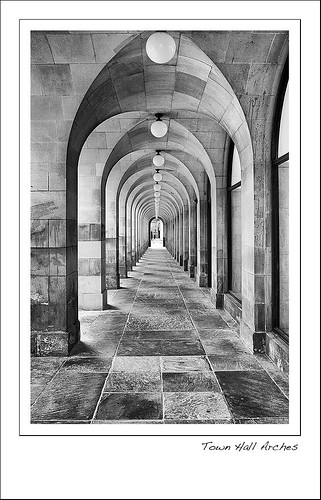 Manchester Town Hall Arches