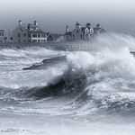 Trearddur Storm by Richard John White