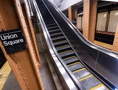 MTA Installs New Escalator for L Customers at Union Square