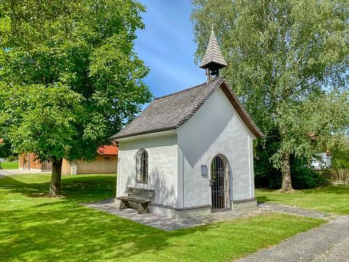 Maria Hilf chapel at the Blaahaus in Kiefersfelden in Bavaria, Germany