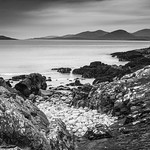 Harris Hills from Luskentyre by Iain Houston