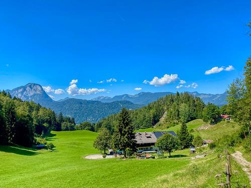 View from Stadtberg mountain near Kufstein in Tyrol, Austria