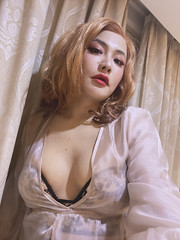 #corset #tg #ts #tgirl #tranny #trans #transgender #transsexual  #gurl  #m2f #mtf #makeup #rafiatg #lingerie #feminization