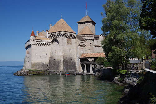 Chateau Chillon / Genfersee / Martigny - Vevey (explore 13-Sep-2020)