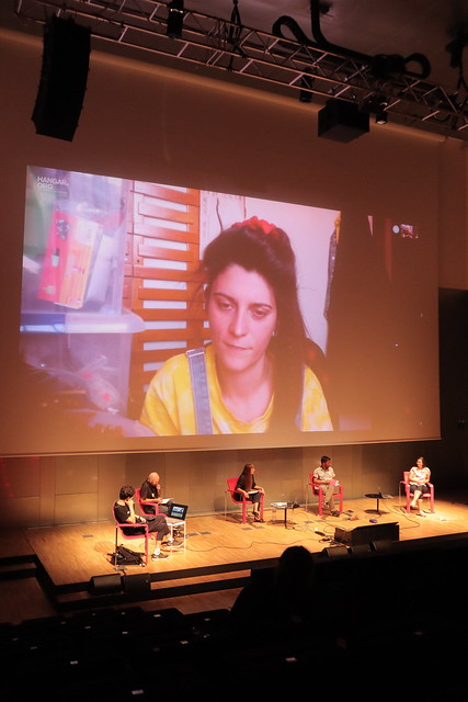 Photo:Roundtable On Code. The Uncertainty Of Meaning And Doing PHOTO © Luciana Della Villa By ARS ELECTRONICA Garden Barcelona