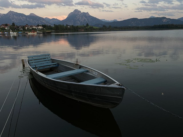 Photo:Hopfen am See - An Alps view with boat tour. By ANBerlin [Ondré]