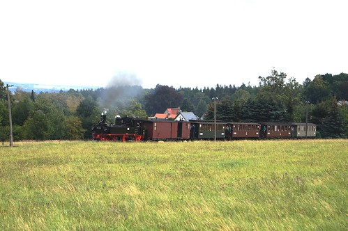 DR 99 542 (ex K.Sächs.Sts.E.B. IV K 135; Hartmann 1899; Reko Raw Görlitz 16.03.1963) IG Preßnitztalbahn