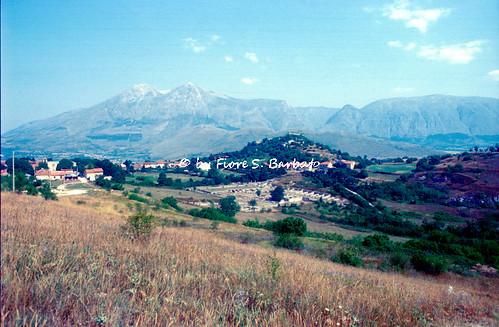 Policoro (MT), 2001, Area archeologica di Siris Herakleia.