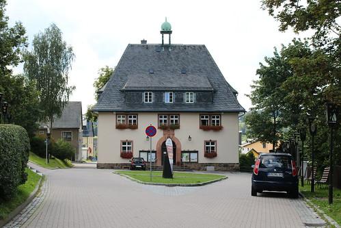 Kurort Seiffen/Erzgeb.: Rathaus