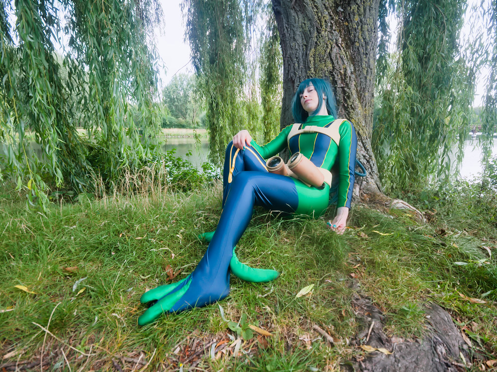 related image - pp/retouches/Shooting Tsuyu Asui - My Hero Academia - Enaelle - Parc du Heron - Lille -2020-08-02- P2222072