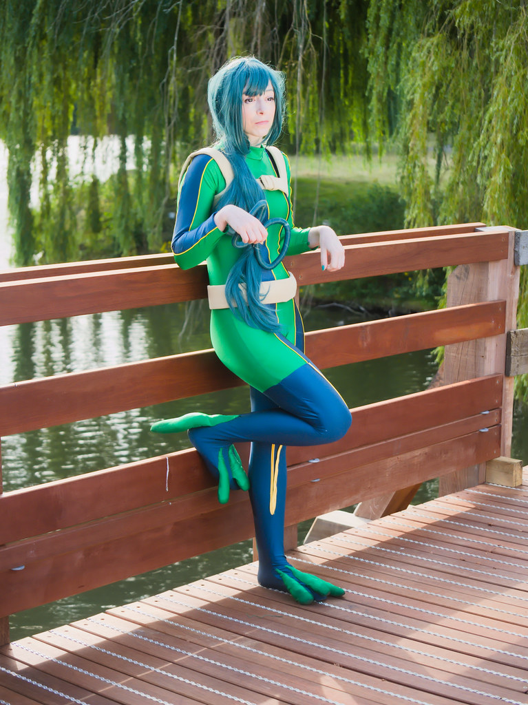 related image - pp/retouches/Shooting Tsuyu Asui - My Hero Academia - Enaelle - Parc du Heron - Lille -2020-08-02- P2222040
