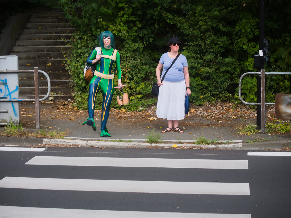 related image - pp/retouches/Shooting Tsuyu Asui - My Hero Academia - Enaelle - Parc du Heron - Lille -2020-08-02- P2222148