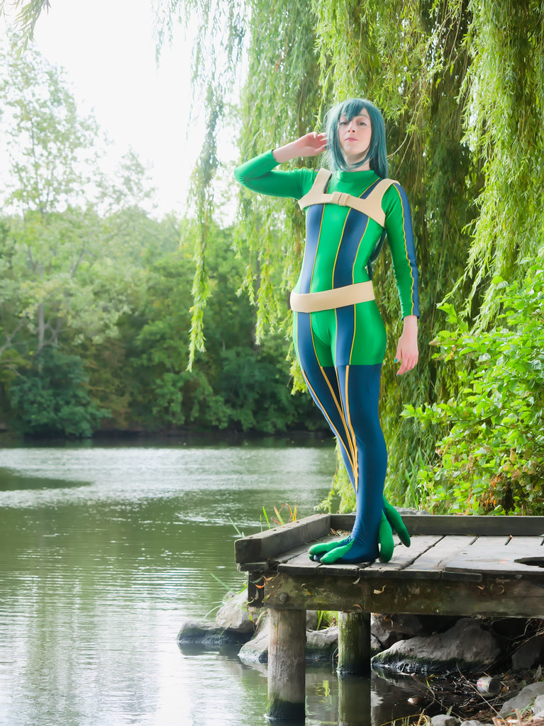 related image - pp/retouches/Shooting Tsuyu Asui - My Hero Academia - Enaelle - Parc du Heron - Lille -2020-08-02- P2222119