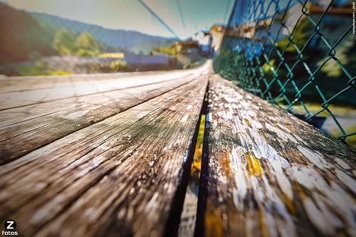 Uma das pontes de Segade..