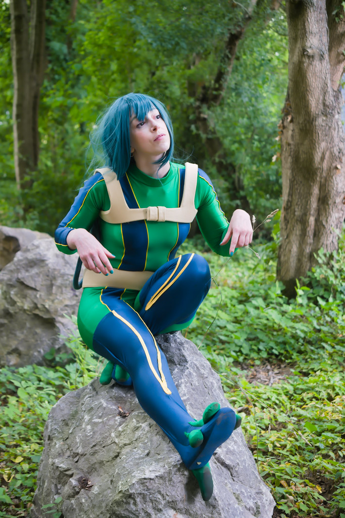 related image - pp/retouches/Shooting Tsuyu Asui - My Hero Academia - Enaelle - Parc du Heron - Lille -2020-08-02- P2222135