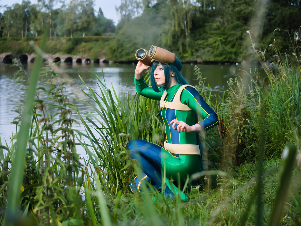 related image - pp/retouches/Shooting Tsuyu Asui - My Hero Academia - Enaelle - Parc du Heron - Lille -2020-08-02- P2222054
