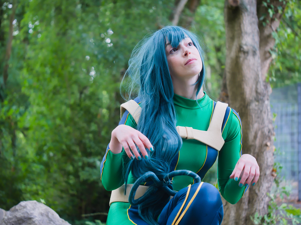 related image - pp/retouches/Shooting Tsuyu Asui - My Hero Academia - Enaelle - Parc Du Heron - Lille -2020-08-02- P2222144