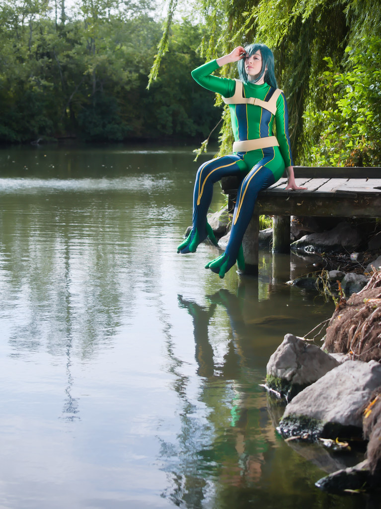 related image - pp/retouches/Shooting Tsuyu Asui - My Hero Academia - Enaelle - Parc Du Heron - Lille -2020-08-02- P2222117