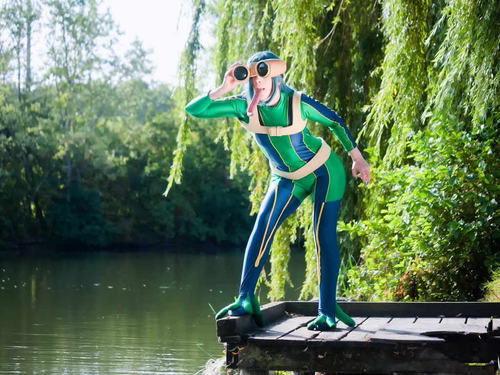 related image - pp/retouches/Shooting Tsuyu Asui - My Hero Academia - Enaelle - Parc Du Heron - Lille -2020-08-02- P2222110