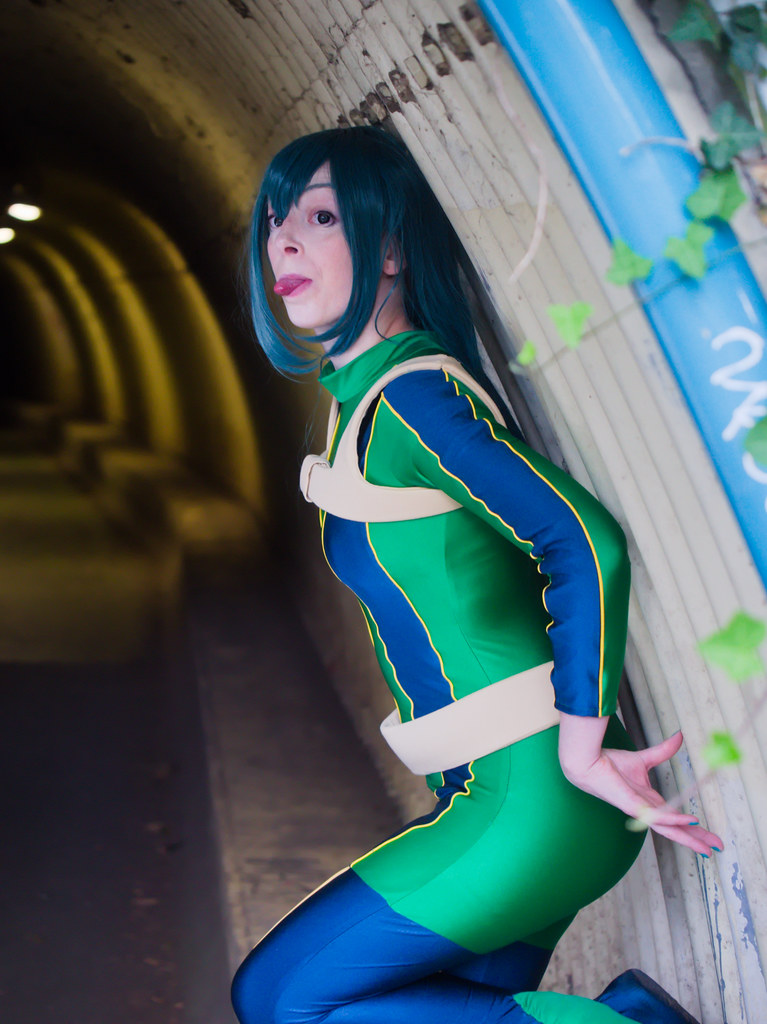related image - pp/retouches/Shooting Tsuyu Asui - My Hero Academia - Enaelle - Parc Du Heron - Lille -2020-08-02- P2222034