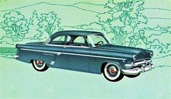 1954 Ford Customline Club Coupe