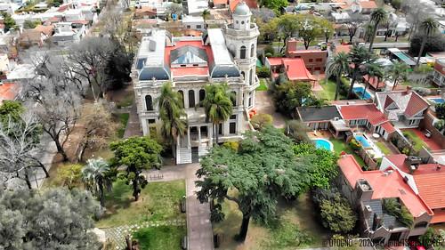 Rosario - Argentina - Rotonda Bajada Puccio - Rondeau - Plaza Alberdi - Villa Hortensia