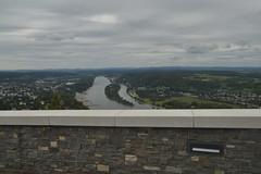 Blick auf Rhein und Insel Nonnenwerth vom Drachenfels aus (137FJAKA_4429)