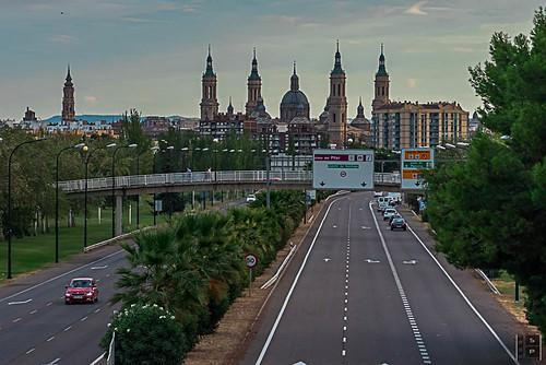 #buenosdias La mejor bienvenida a Zaragoza