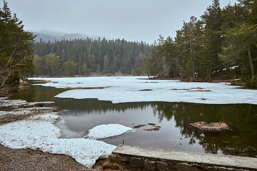 Lake with Ice